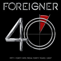 Foreigner 40 cd cover